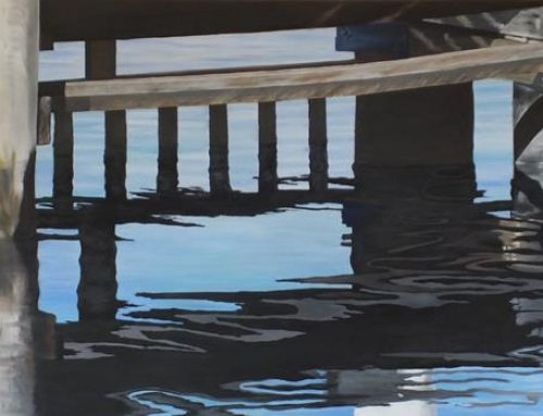 Huon Jetty Under Belly 91 x 183cm