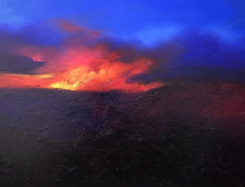 FIRE LIGHT 122 X 152CM