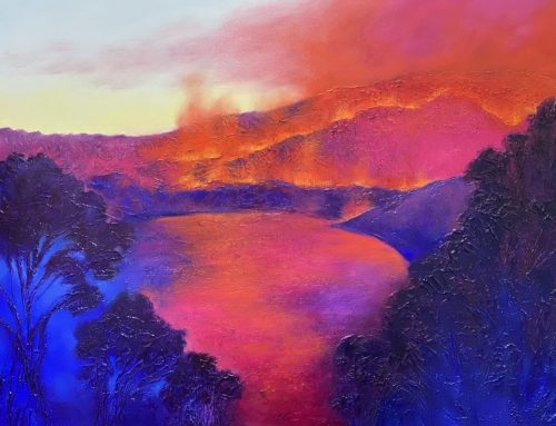 PASSIONS FLAME 122 X 152CM