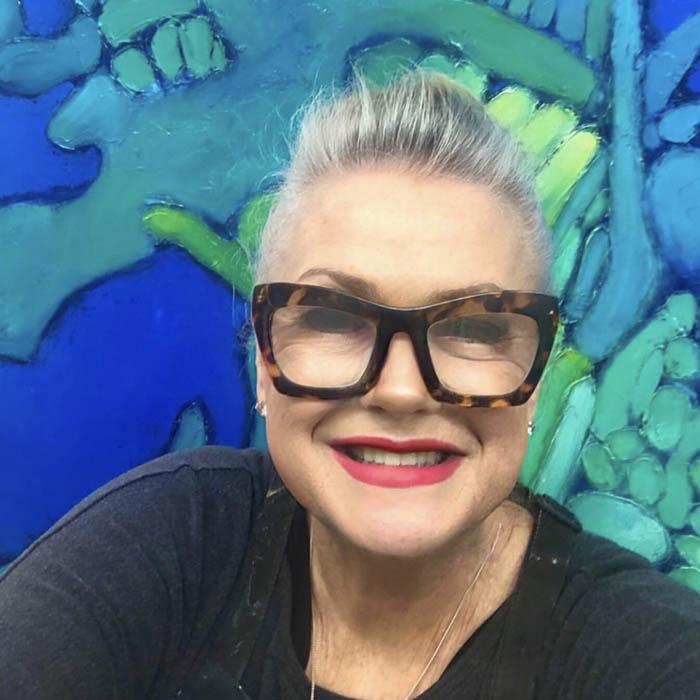 Photo of Lyn Hammond Australian Artist